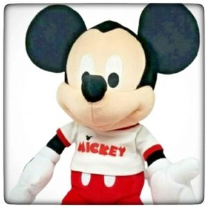 """Mickey Mouse Plush 22""""-Good Gently Used Condition"""